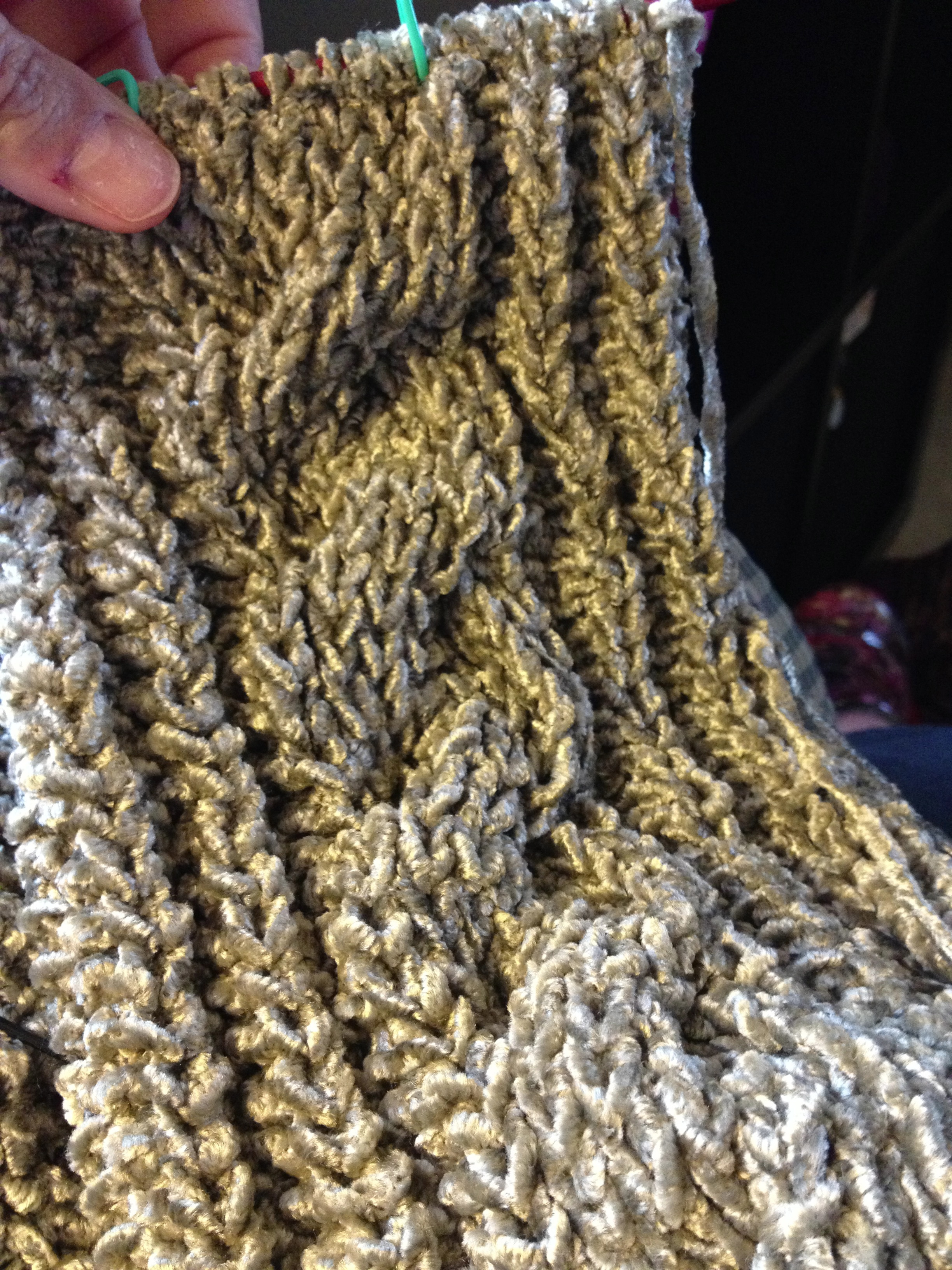 Vintage Velvet scarf