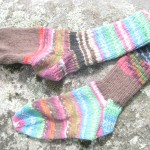 Birthday Party Socks - by Queen Bee Knits