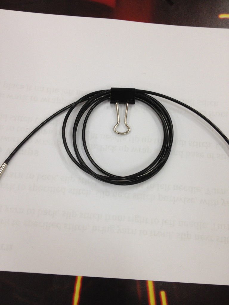 Here's a single cord so you can see it even better!