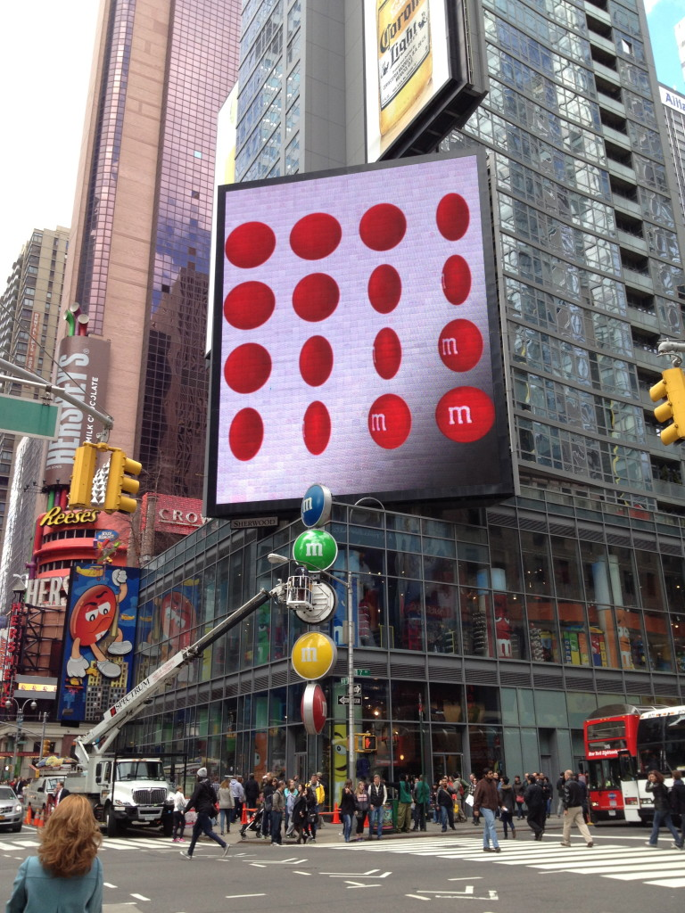 Times Square M&Ms store