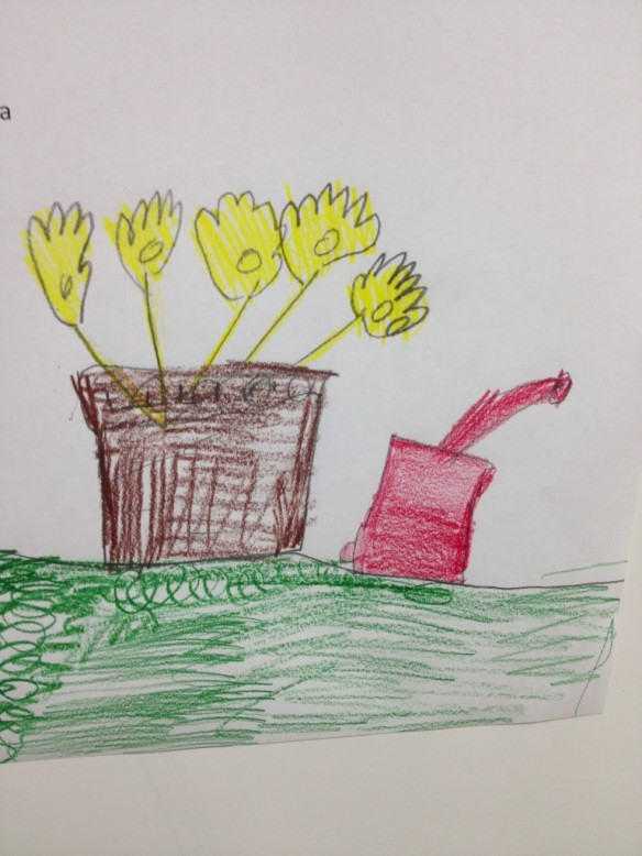 A Pretty Picture from Third Grade!