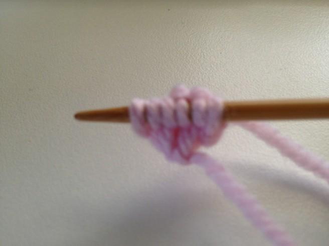 Knit all stitches