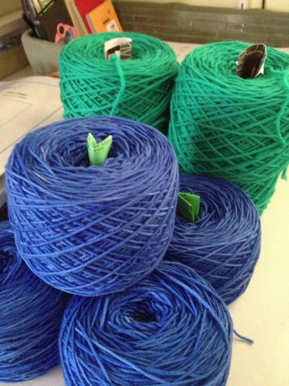 Cascade 220 and Colinette Jitterbug