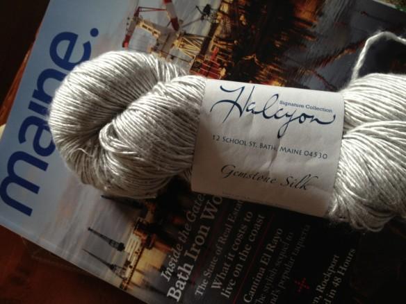 Hlacyon Gemstone Soft Twist Silk - Lot 15989 - 240 yards 100% silk, Sport weight 5-7 sts = 1 inch on US 3-5 needles