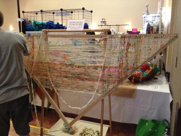 Seven Foot Triangular Loom