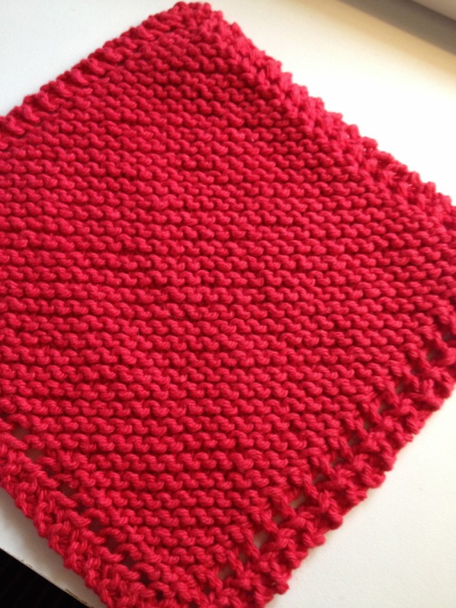 Basic (easy) Dish Cloth
