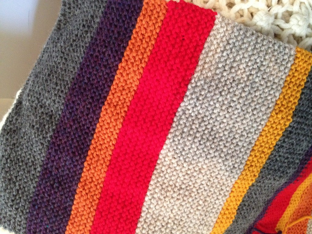 Dr. Who Scarf WIP#1