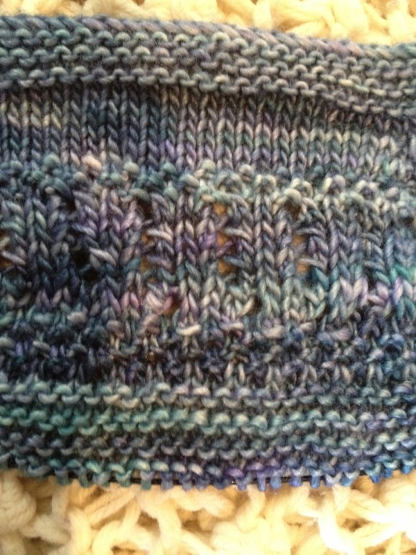 Downton Abbey KAL WIP#3