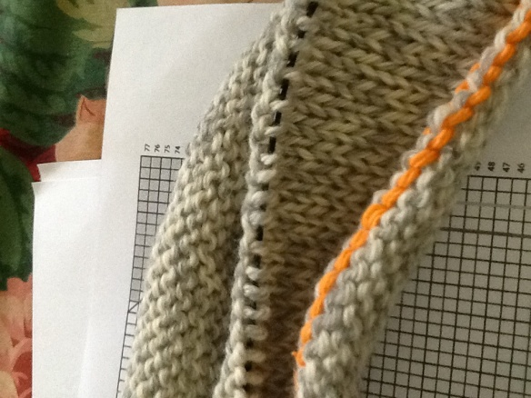 My Cooperative Press Test Knit Project … just starting!