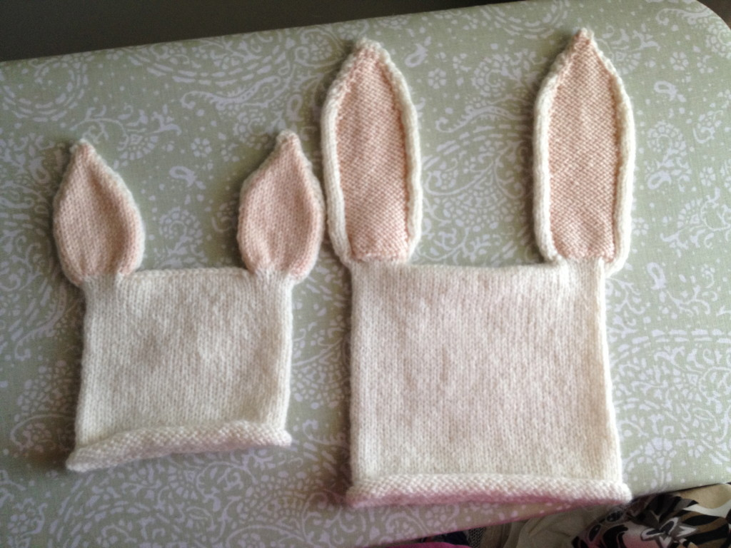 A Pair of Hare Hats … blocked and heading to California!