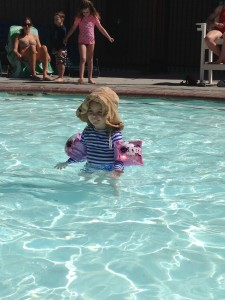 Princess Faye -swimmer