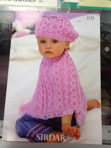 Sirdar Snuggly Double Knitting Patten #1516