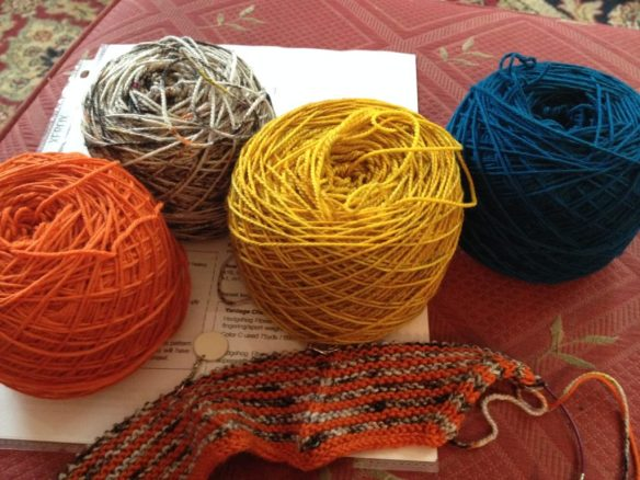 Yarn Choices 1-4