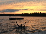 Sunset Swims