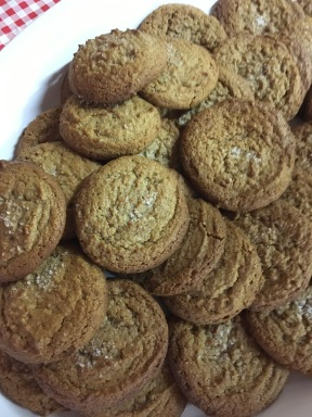 Warm Peanut Butter Cookies for lunch