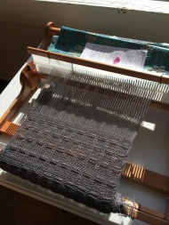 Rigid Hettle weaving