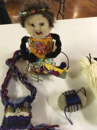 Weaving a Life doll and amulet