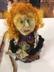 Weaving a Life doll